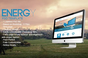 Energy PSD Template
