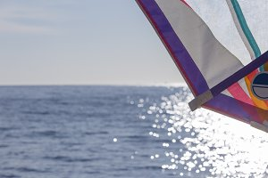 windsurf sail background