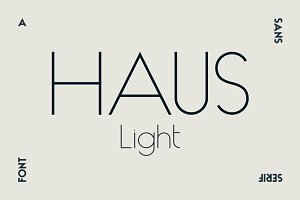 HAUS Sans Light