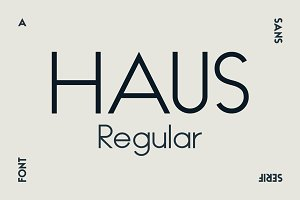 HAUS Sans Regular