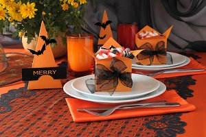 Tableware Halloween
