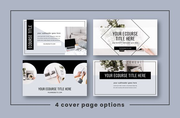 eCourse Slide Deck Template in Keynote Templates - product preview 2
