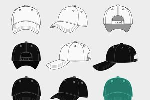 baseball cap isolated photos graphics fonts themes templates