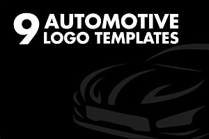 9 Car Logo Templates