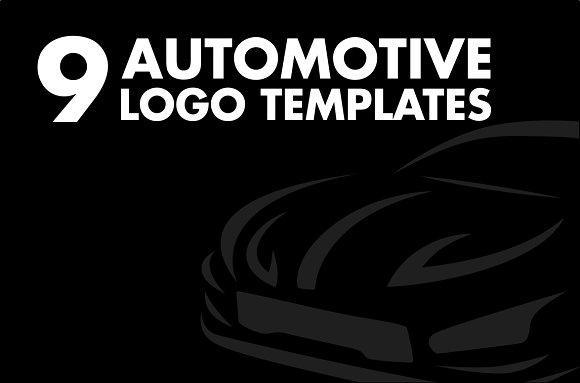 9 Car Logo Templates Logo Templates Creative Market