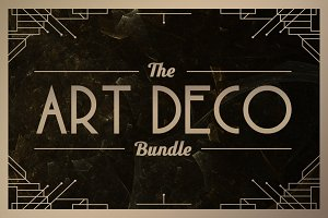 Art Deco Bundle • Save 70%