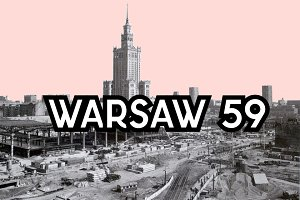 Warsaw 59 font