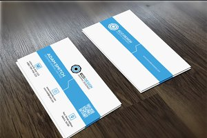 Clean Cretive Business Card