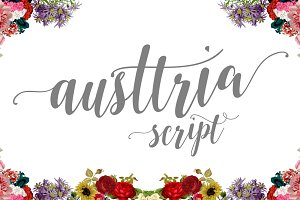 Austtria Script & Letter