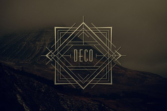 art deco bundle save 70 display fonts creative market