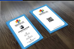 modern clean v5 Business Card