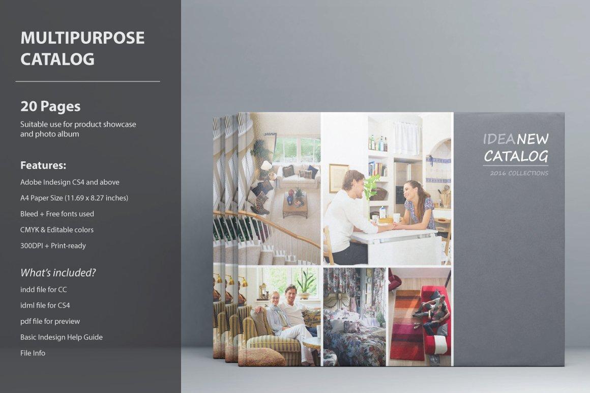 Idea Catalog Template ~ Brochure Templates ~ Creative Market