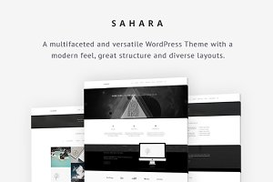 Sahara - Business WordPress Theme