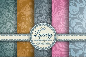 Luxury seamless patterns