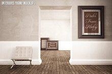 Interior Poster frame Mock-up (1)
