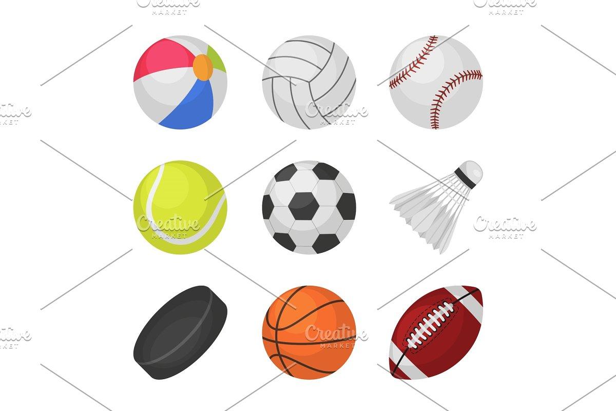 Ball games. Sports kids ball