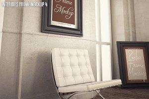 Interior Poster frame mock-up (4)