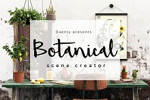 Daenty Scene Creator - Botanical