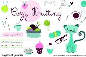 Knitting Clipart Commercial Clip Art