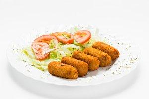 Croquettes dish