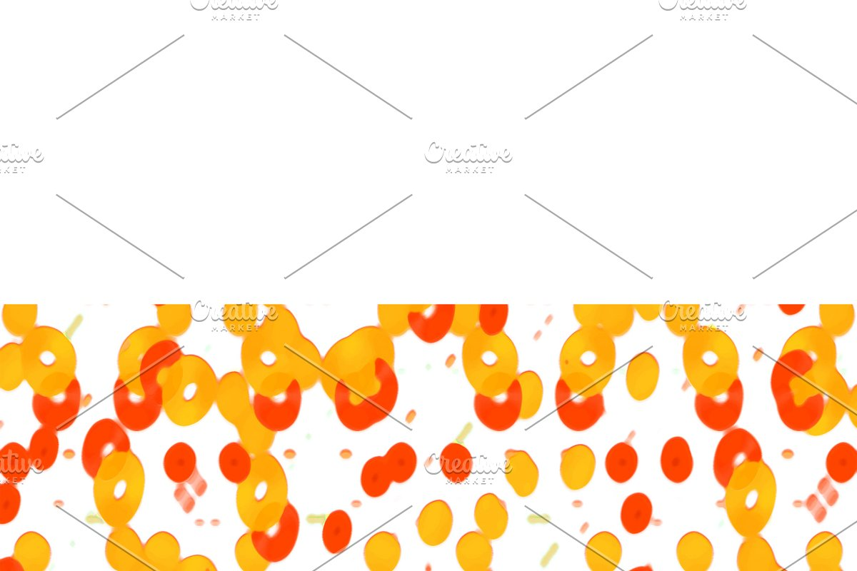 Stationery Background with Decorated