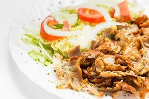 Kebab meat dish