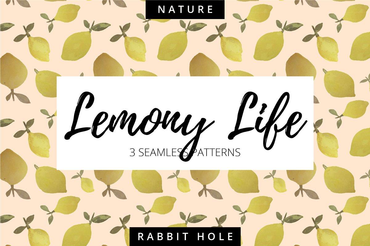 Lemony Life Handmade Pattern