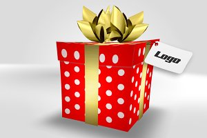 Gift Box - After Effects template