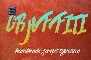 Graffiti font script