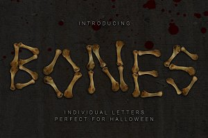 Bone Letter Collection