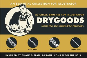 DryGoods | Chalk Brushes for AI