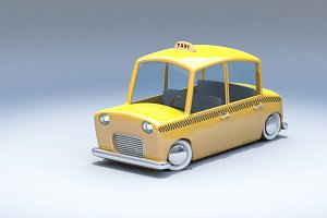 Toycar Taxi