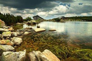 Hut at the lake