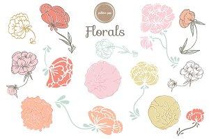 Floral Vector Clip Art