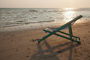Crib on the beach