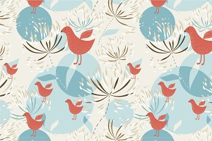 "Seamless pattern ""Summer"""