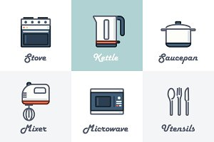 9 Kitchen Icons