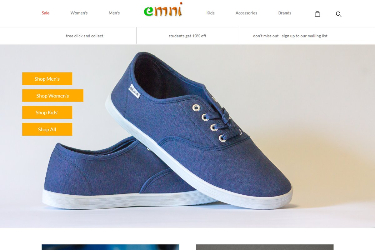 Emni - Responsive eCommerce template