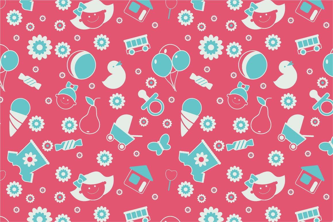 Baby Pattern Unique Design Inspiration