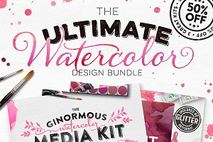 The Ultimate Watercolor Bundle