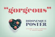 Didonesque Poster Font Duo