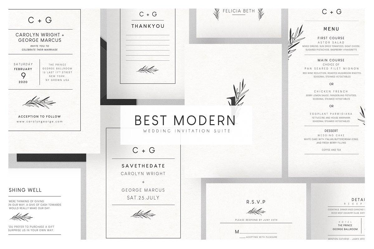 Best Modern Wedding Suite