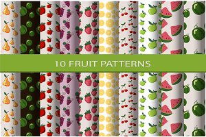 Set of seamless patterns (swatches)