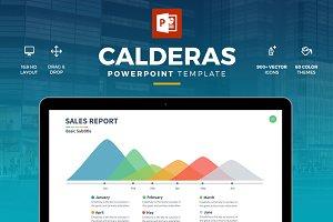 Calderas Powerpoint Template
