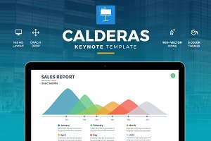 Calderas - Keynote Template