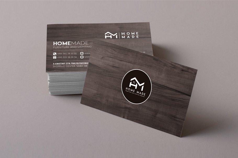 Wooden Business Card 8