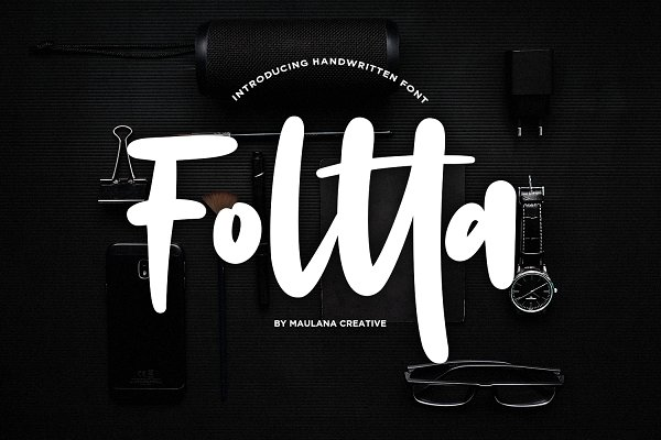 Foltta Typeface