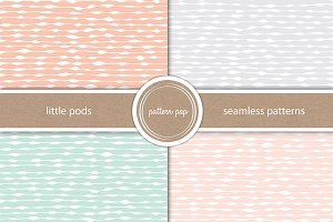 Hand Drawn Seamless Pattern Pack