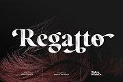 Regatto   Venetian Style Typeface