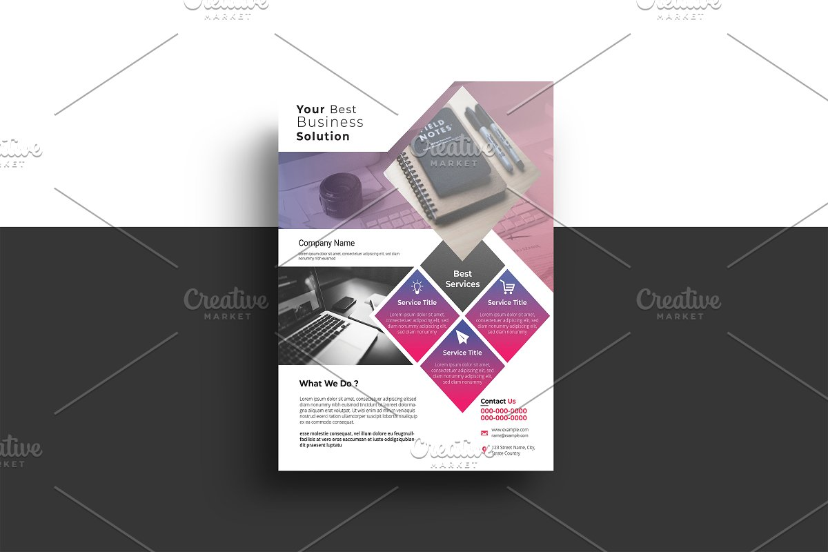 Clean Corporate Flyer - V1062
